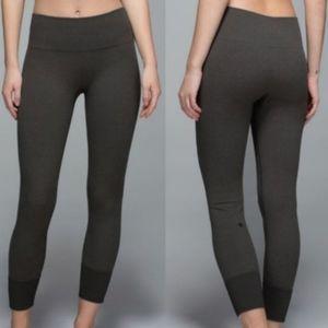 Lululemon Ebb to Street dark grey pants